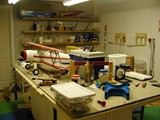 All it takes is some open space like this former model shop in my basement.